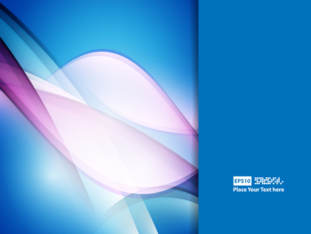 wavy background: wavy abstract background with bright lines. Illustration