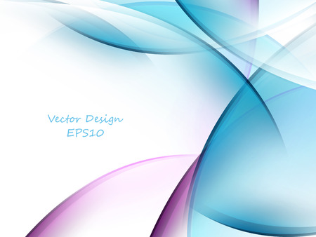 abstract waves: colorful bright background with copy space. Illustration