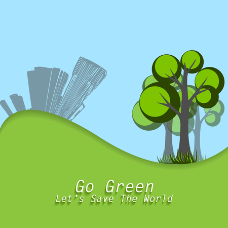 sity: World Environment Day concept. Elements for your design.