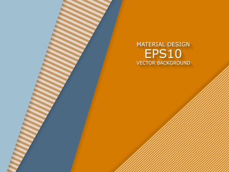 geometric shapes: Unusual modern material design  background. Geometric shapes. Illustration