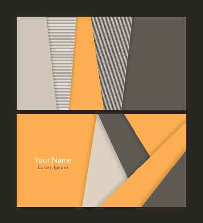 speach: Vector business card template. Elements for design. vector illustration Illustration