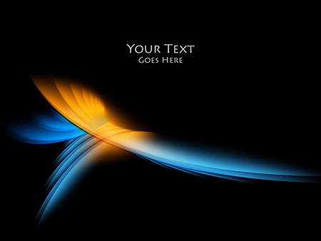 Bright fond vectoriel. lignes ondulées, des éléments de conception. éléments vectoriels pour des présentations, des brochures, des rapports annuels.