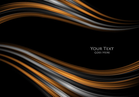 Heldere vector achtergrond. Golvende lijnen, elementen voor ontwerp. Vectorelementen voor presentaties, brochures, jaarverslagen. Vector Illustratie