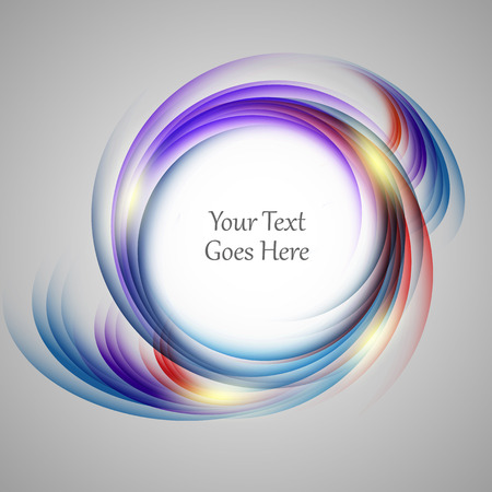 abstract bright vector background with copy space. Colorful design. Vetores