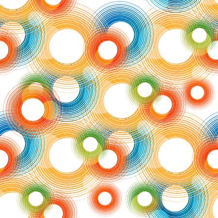 seamless geometric background Illustration