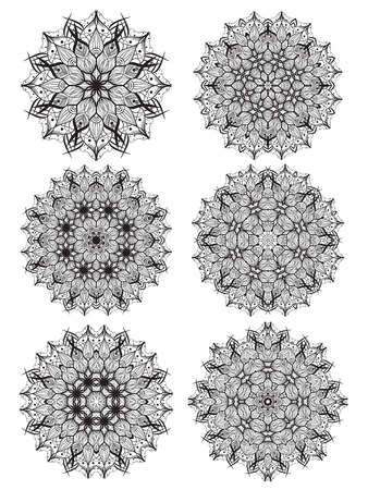 mandala: mandala design Illustration