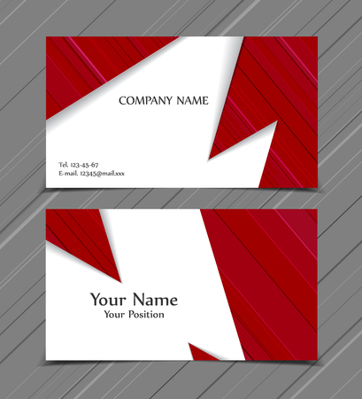 page layout: Vector brochures templates