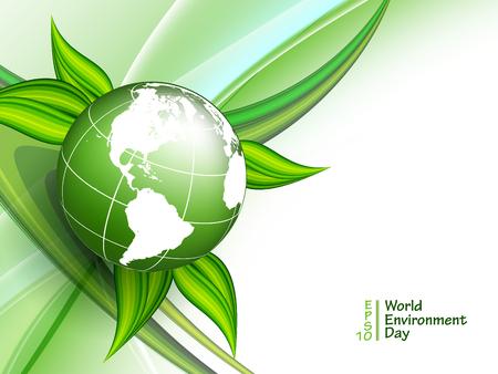 World environment day vector Illustration