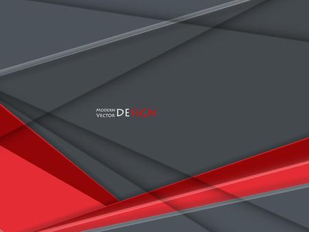 advertising material: bright corporate vector design