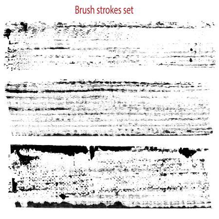grungy textures set  イラスト・ベクター素材