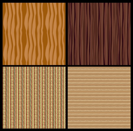 4 wood texture. Vector Stock Vector - 12290834