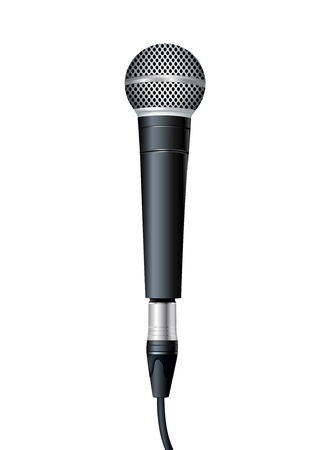 microphone retro: Microphone  illustration