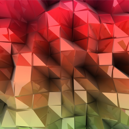 Abstract colourful background  Combination of triangle  Vector