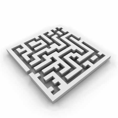 Vector of a maze  labyrinth  Vector