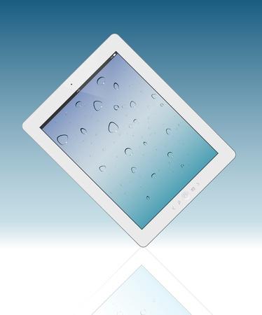 Tablet pc  Vector illustration Vector