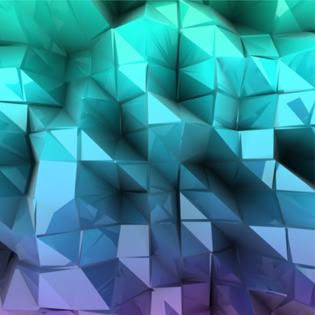 Blue triangle abstract  Vector background Illustration