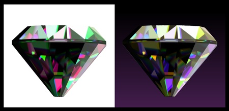 zircon: Two of jewelry gems