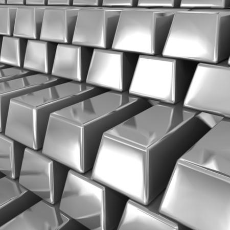 lajas: Barras de plata