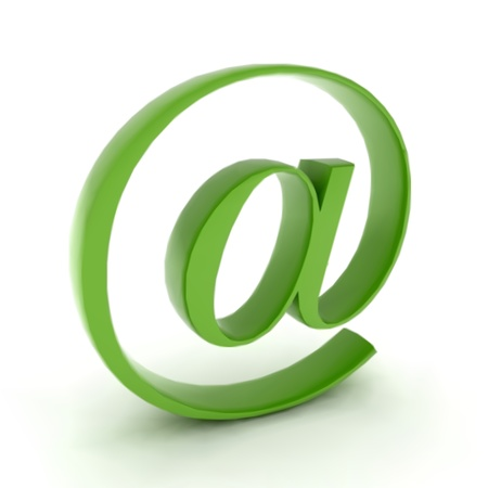 At mail contact icon