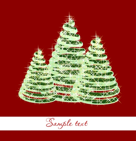 Christmas background  Vector Stock Vector - 13056335