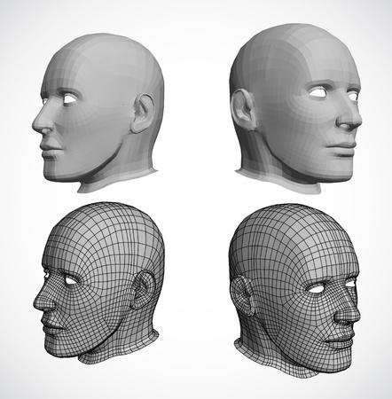 viewport: heads Illustration