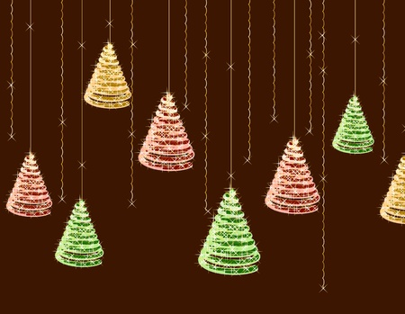 Christmas background  Vector Stock Vector - 13075079