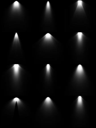 stage projector: Set light sources