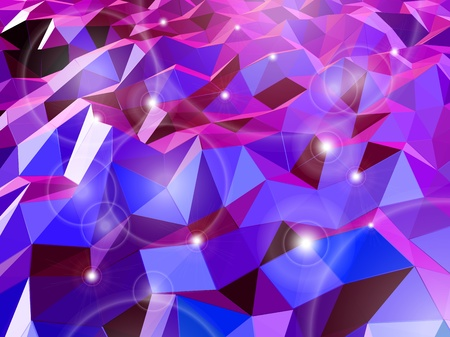 Abstract violet background  Combination of triangle  Vector Vector