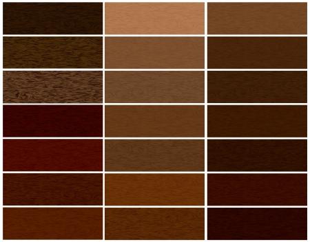 Wooden materials vector set Stock Vector - 13707806