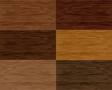 Set wood seamless patterns  Vector Stock Vector - 13707809