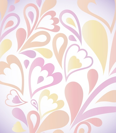 Abstract colorful background with floral   Stock Vector - 14437956