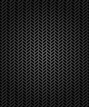 motricit�: Trace transparente de l'illustration pneu