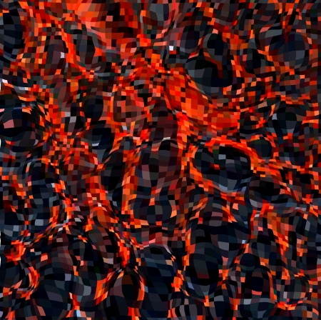 lav: Sıcak Molten Lava Vektör arka plan