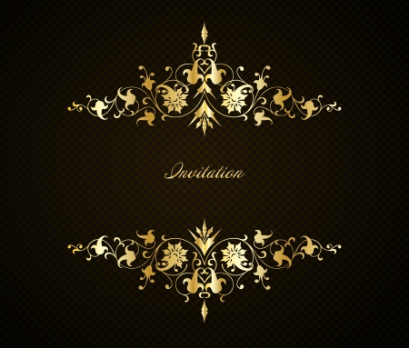 Vintage floral background  Vector Vector