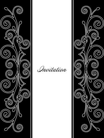 Illustration of luxurious invitation card  Vector Stock Vector - 15215341