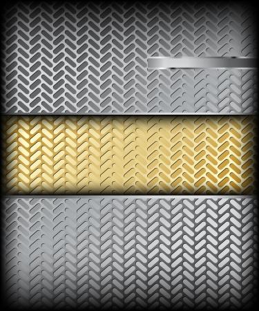 Metal texture  Vector background Stock Vector - 15056803