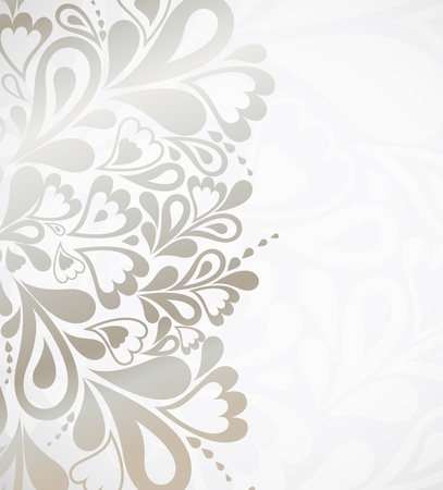 Illustration silver background for design Çizim