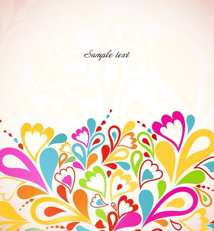 Abstract colorful background  Vector illustration Illustration