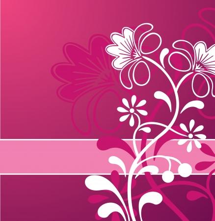 Pink Flower Ornament