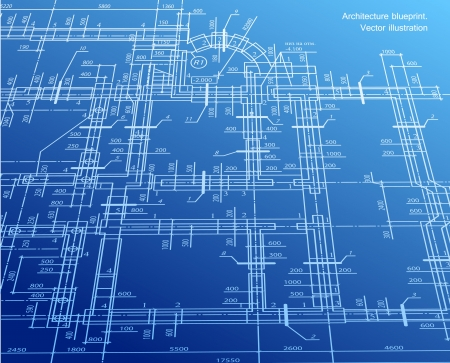 Architecture blueprint background Stock Vector - 15522189