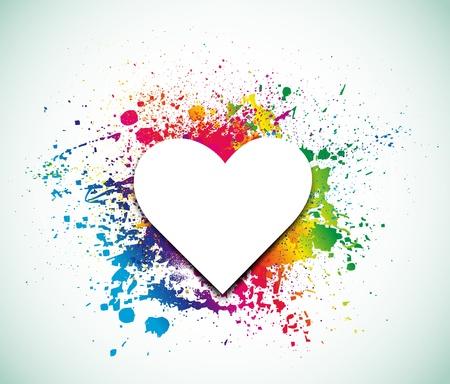 valentine s day background: Valentine s Day Background  Vector  Illustration