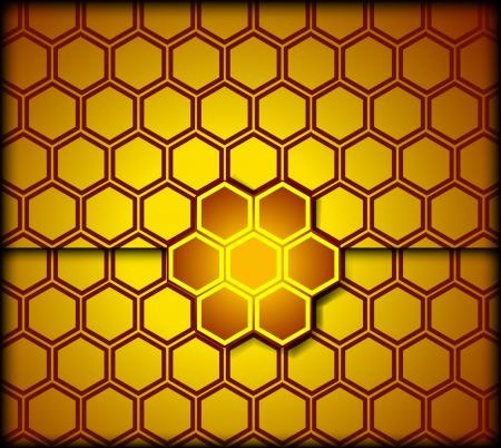 honey comb: Honeycomb background