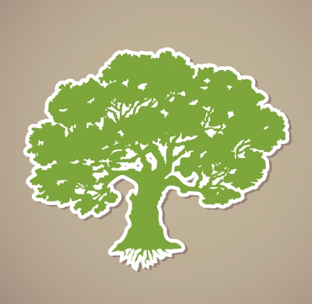 Tree  Vector Stock Vector - 15890637