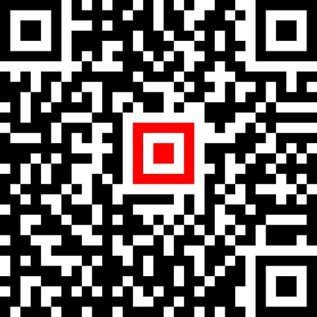 Abstract qr-code isolated on white Stock Vector - 15890628