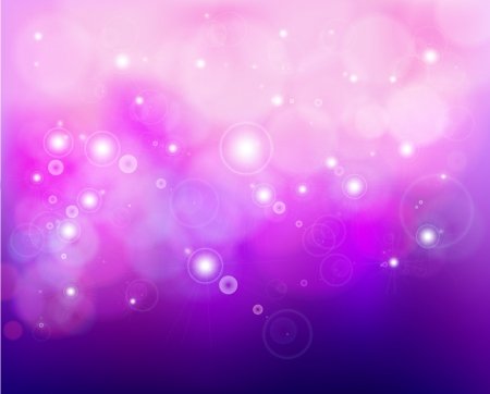 Pink shine background with stars  Vector Stock Vector - 15890570