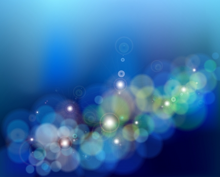 Abstract glowing blue background  Vector Stock Vector - 15890569