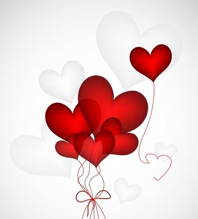 Heart Ballloons Stock Vector - 17247495