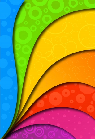 free clip art: Abstract colorful background for design