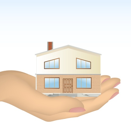 maintain: The house in hand   Illustration
