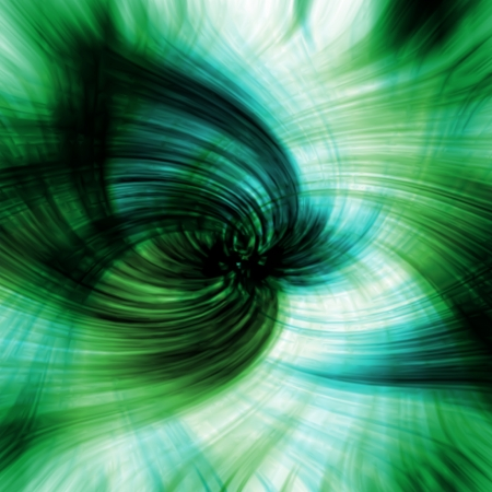 Abstract green swirl background  Vector Stock Vector - 19672244